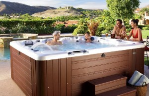 Caldera Spas at Panache Pools
