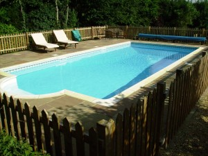 In ground swimming pool by Panache Pools