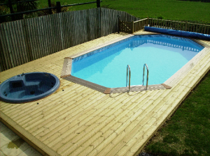 Wooden Swimming Pool