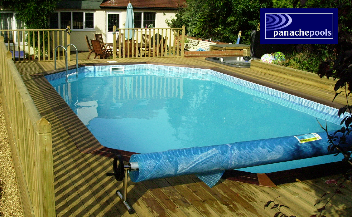 Build your own wooden swimming pool panache pools 39 blog for Wooden pool