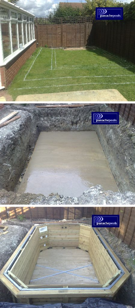 Exercise pool installation