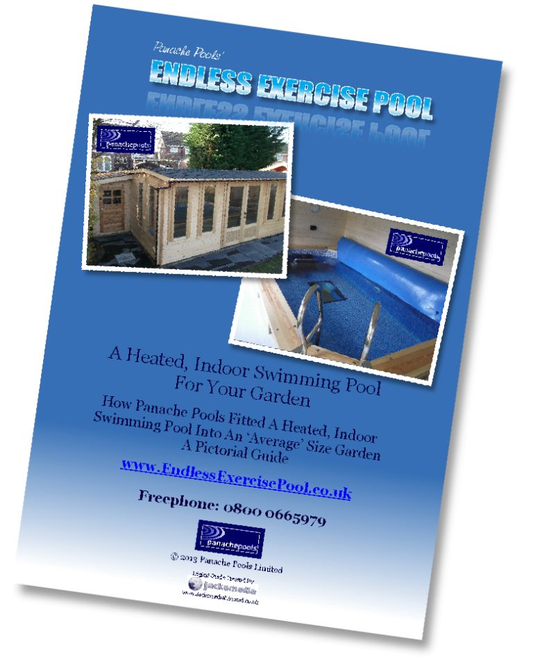 Exercise pool in timber cabin project guide