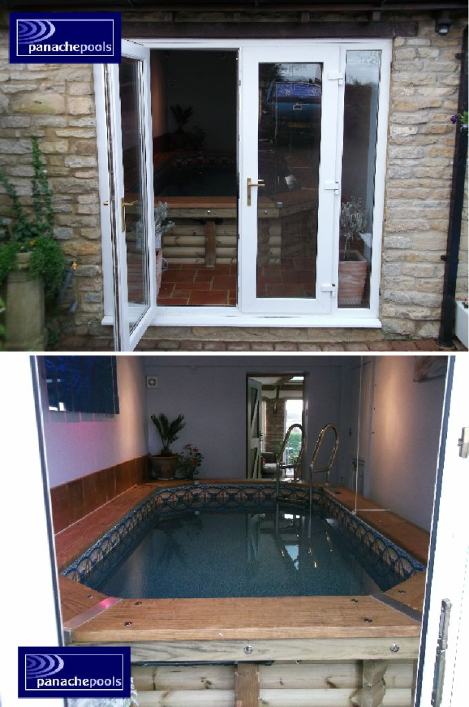 Exercise Pool in a garage