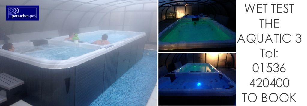 Swim Spa Wet Test