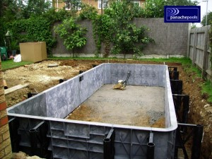 Panel pool build.